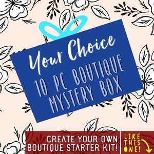 CREATE YOUR OWN BOUTIQUE STARTER KIT